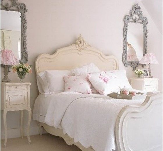 Lovely Ivory Bedroom Furniture   Hollywood Thing