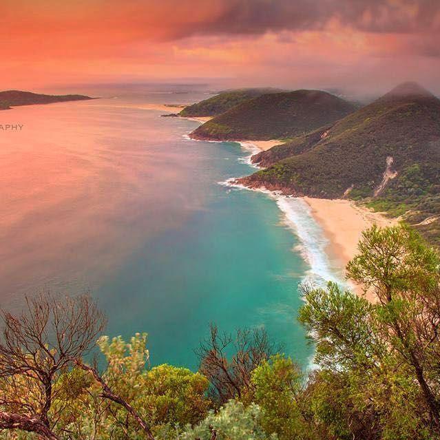 Mount Tomaree, PORT STEPHENS AUSTRALIA.