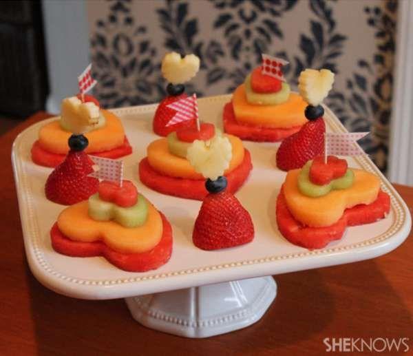 Des petits gâteaux de fruits