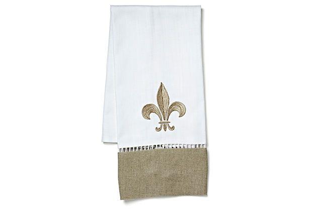 22 best images about fleur de lis on pinterest - Fleur de lis bath towels ...