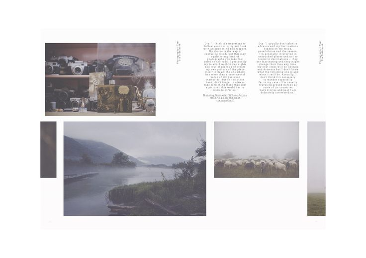 Morning Nomads journal / Authentic Summer / Wandering / Photographs and interview by @diatakacsova