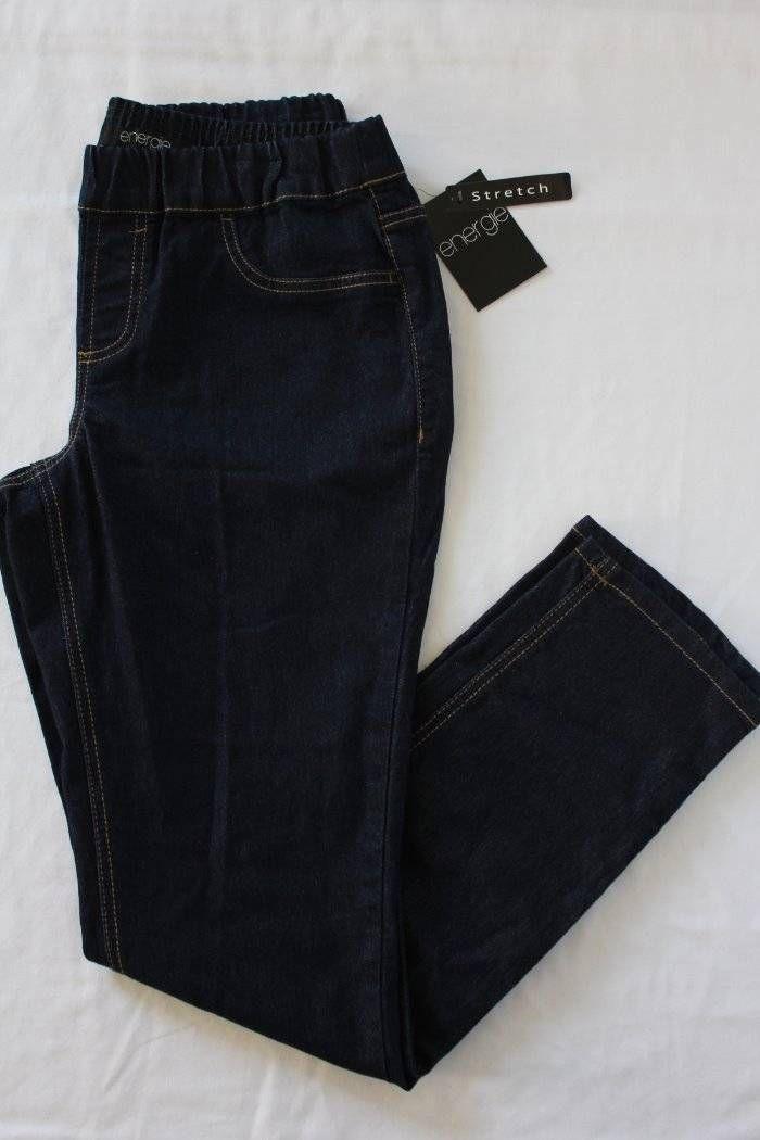 Womens Jeggings Stretch Pants Plus Size 3X Ladies Dark Denim Jeans Leggings
