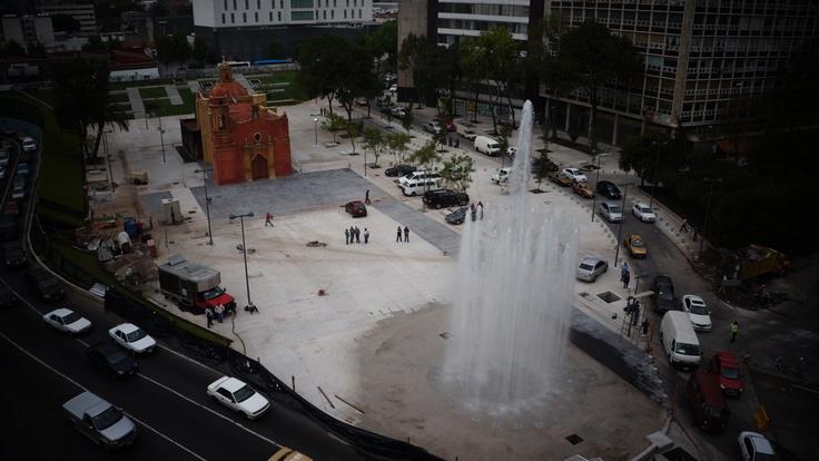 fountain Tlaxcoaque D.F.
