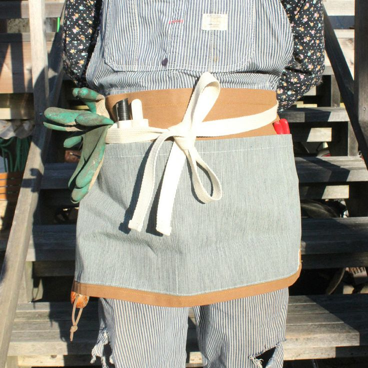 The Gardener's Apron: Made for us by the PHS run, Window community arts/craft shop in Vancouver, BC. Great for tools, in the kitchen, or behind the bar! 100% cotton canvas, super durable and ready to ship for the holiday! http://shop.victorygardensvancouver.ca/collections/vg-label/products/the-gardener-s-apron