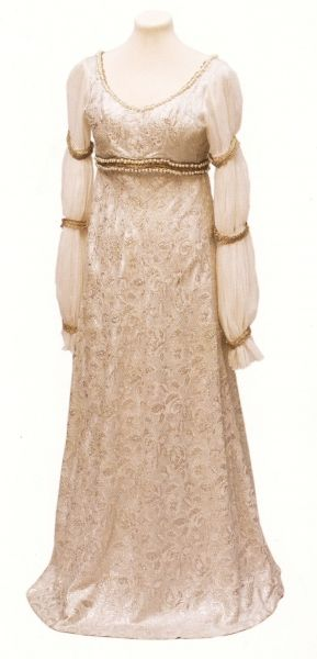 """Dress for Cinderella in film """"Tři oříšky pro popelku""""."""