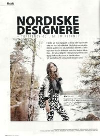 R/H the Label in FEMINA Magazine Sweden 48/2012