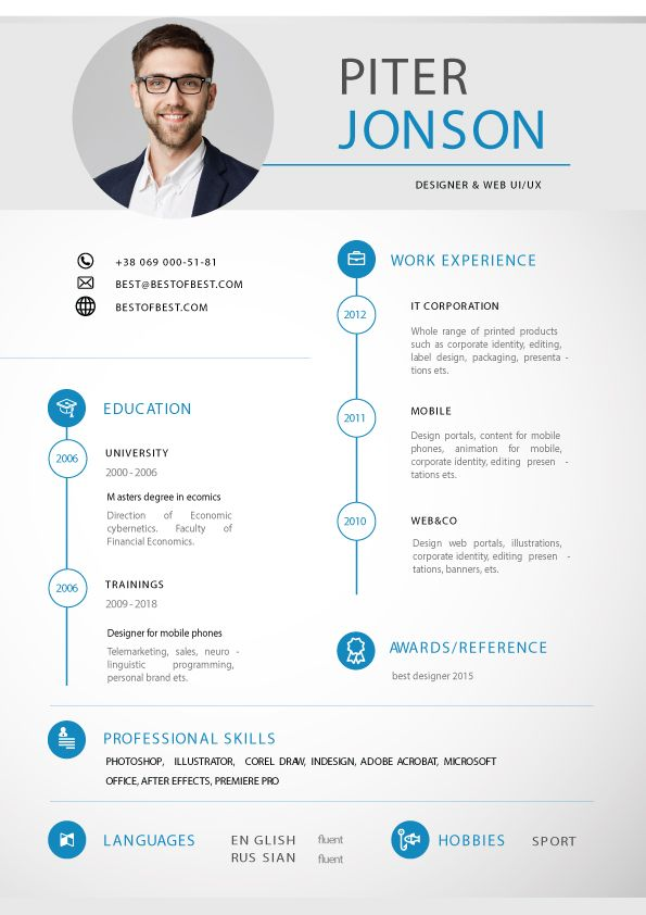 Digital Resume Bundle 10 Print Ready Cv Templates Downloadable Resume Template Resume Templates Simple Resume Template