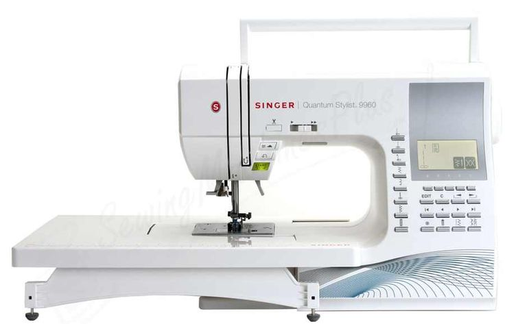 Singer QUANTUM STYLIST 9960 Sewing Machine ** SALE SALE ** FREE FREE Delivery Australia only was $1,999.00NOW ON SALE $1,499 saving you $500 The Singer QUANTUM STYLIST 9960 .Its 600 built-in stitch patterns including 5 alphanumeric fonts and 13 fully automatic one-step buttonholes with exclusive buttonhole under plate, Mirror imaging and stitch elongation operations give you the freedom to customize your projects www.facebook.com/DarvanaleeDesignsFabrics