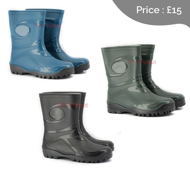 """#Demar wellington #boots, new """"Young"""" pattern for Ladies, great for use in the #garden."""