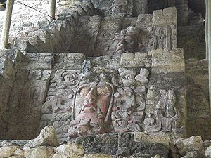 PyramideDesMasquesKohunlich - Ancient Maya art - Wikipedia, the free encyclopedia