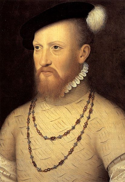 Edward Seymour brother of Jane Seymour. Uncle of Edward VI he served as Lord protector in Edwards reign. He was executed on January 22, 1552