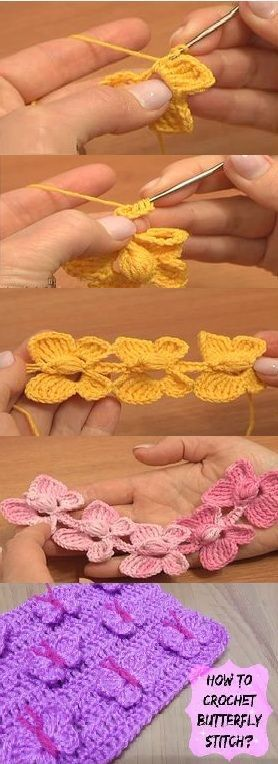 How to #crochet a beautiful #butterfly #cord (video tutorial)