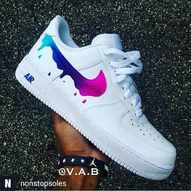 Custom Nike Free Run Shoes