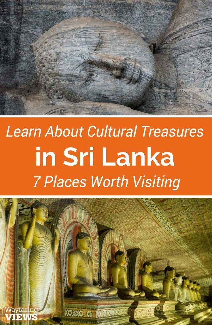 Visiting Sri Lanka's cultural sites will give you a living history of its architectural prowess, royal intrigues, religious piety & cultural pride. Visit the Golden Triangle, Dambulla Caves, Polonnaruwa and Sigiyra