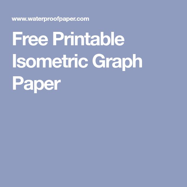 isometric and isometric graph paper pdf