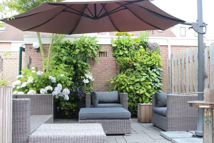 Tuin idee  De Vertiplant Single verticaal tuinieren. www.vertiplant.nl www.facebook.com/verti-plant
