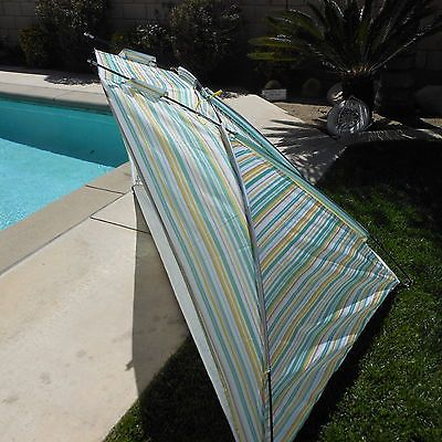 Tents and Shelters 72670: Serec Entertainment Family Cabana Beach Shade Tent -> BUY IT NOW ONLY: $30.99 on eBay!