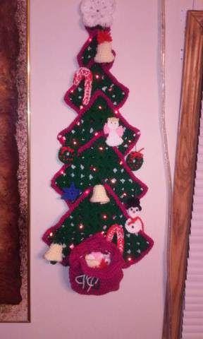 Advent Xmas Tree with lights