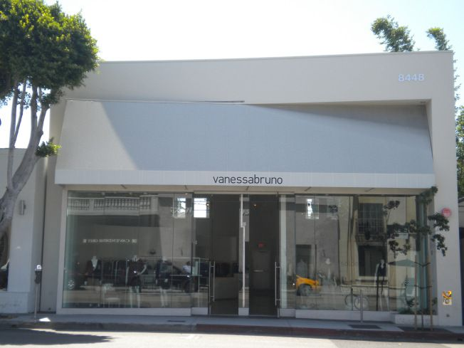 Vanessa Bruno en Melrose Ave. Los Angeles