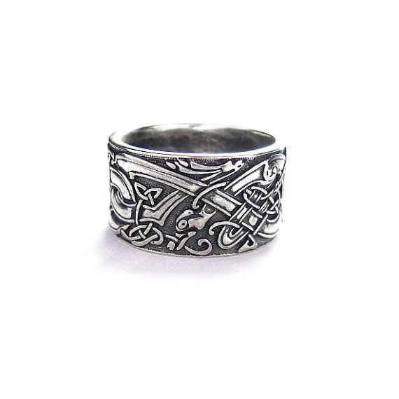 Hey, I found this really awesome Etsy listing at https://www.etsy.com/se-en/listing/233470869/ring-celtic-dogs-celtic-wolves-wolf-ring