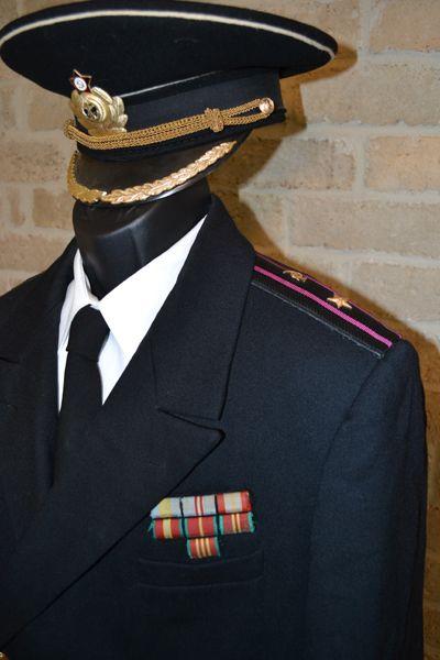 Naval Doctor- Major.  Carmine 1969-1980 configuration.
