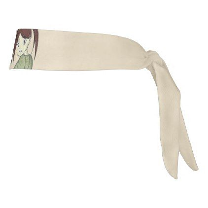 Nori Makino - Original Character Tie Headband - girl gifts special unique diy gift idea