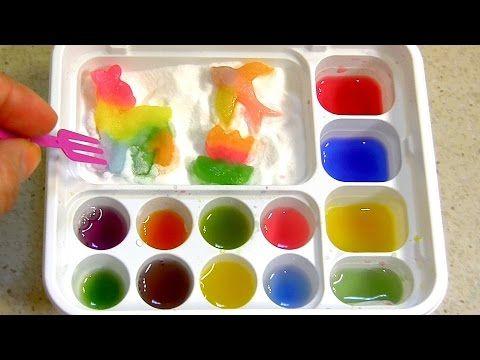 Popin' Cookin' DIY candy kit Maker # 6 Animals Gummy Land グミランド Oekaki by Kracie グミキャンディーキット - YouTube