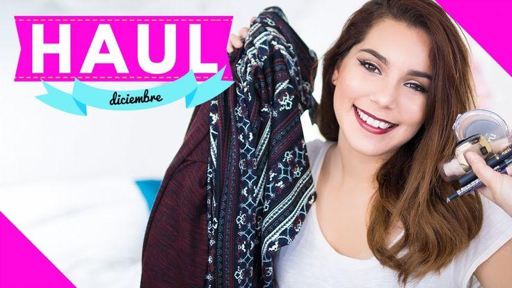 HAUL DICIEMBRE: Maquillaje, Ropa y Accesorios ♥ Jimena Aguilar
