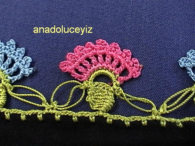 crochet border decoration