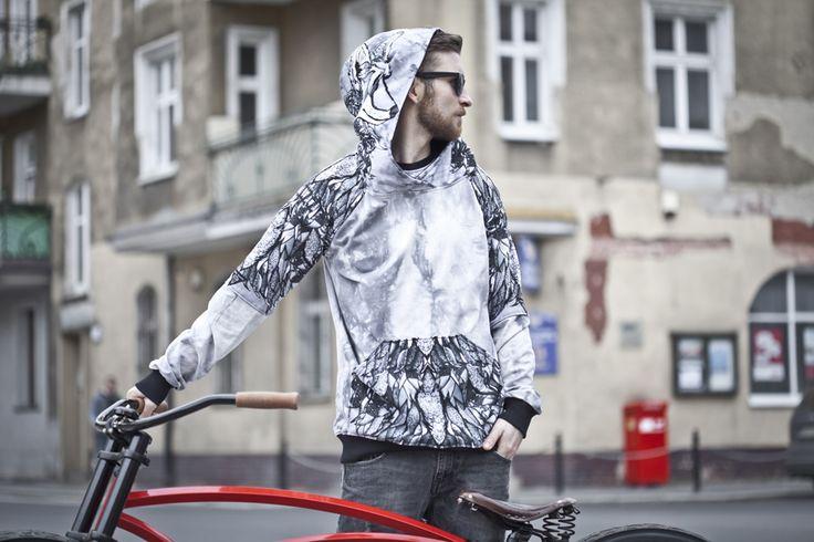 COYOTE HOODIE bluza męska STREET LEGEND Clothing Brand