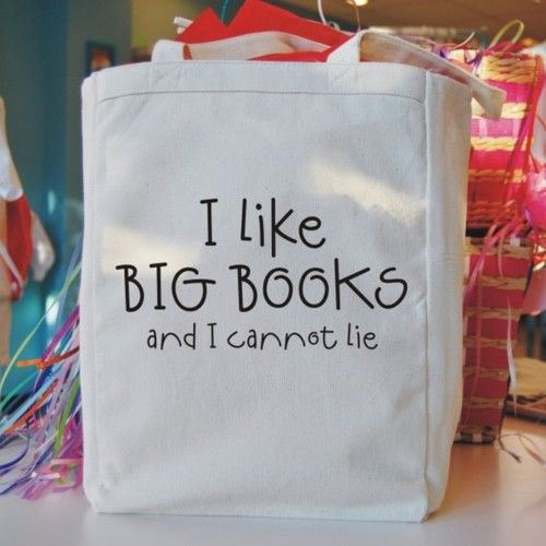 Bibliophile!: Libraries Bags, Funny Books, Books Club, Books Nerd, Totes Bags, Mr. Big, Books Lovers, Big Books, Libraries Books