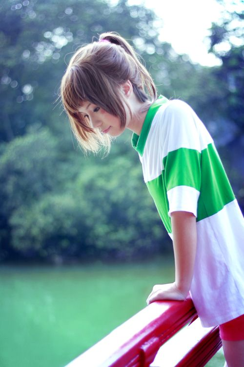 Chihiro Spirited Away #cosplay // http://cosplay-in-vietnam.tumblr.com/post/35976889084/spirited-away-cosplay-cosplayer-hana-bi