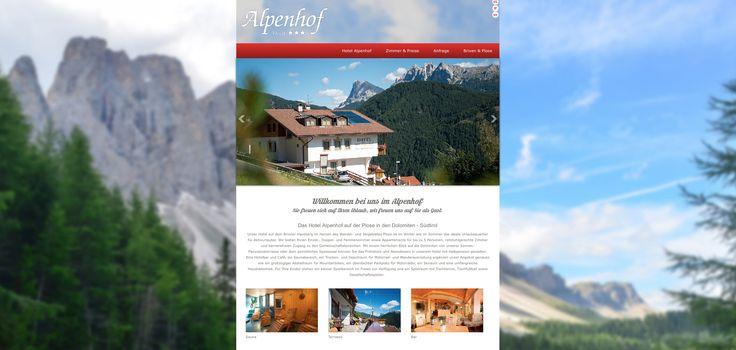 Das Hotel Alpenhof auf der Plose in den Dolomiten - Südtirol Unser Hotel auf dem Brixner Hausberg im Herzen des Wander- und Skigebietes Plose ist im Winter wie im Sommer das ideale Urlaubsquartier für Aktivurlauber.  Mit einem herrlichen Blick auf die Dolomiten von unserer Sonnen-Panoramaterrasse oder dem gemütlichen Speisesaal können Sie das Frühstück und Abendessen in unserem Hotel mit Halbpension genießen. Mehr unter: http://www.hotel-alpenhof.bz.it