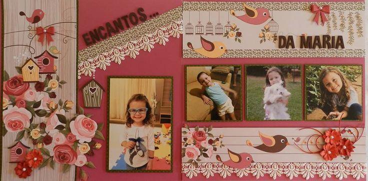 pagina scrapbook - Marcia Callou