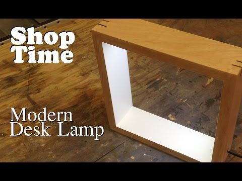 We needed a new lamp for the basement, so we decided to create one out of reclaimed wood and led strips! Like our videos and would like to help out? Become o...