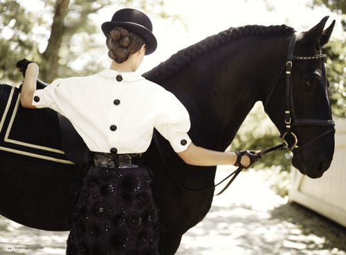 If I were to go horseback riding, this is what I would want to wear :)