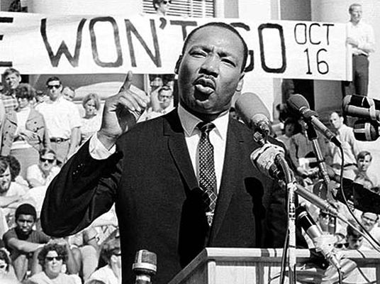 Dr. Martin Luther King, Jr.: The Peaceful Revolutionary Warrior ...