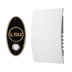 NuTone Louusiana State University College Pride Door Chime Kit Antique Brass Finish. Can play LSU fight song!