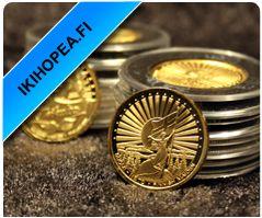 IKIHOPEA - Puhdasta 99,9% hopeaa