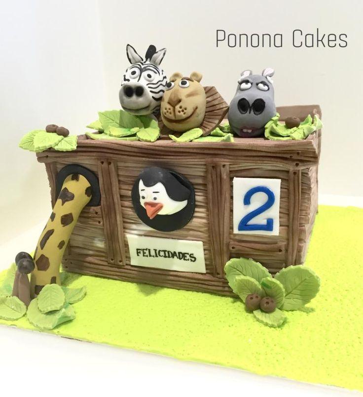 Madagascar box cake