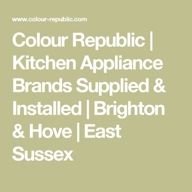 Best 20 Kitchen Appliances Brands Ideas On Pinterest