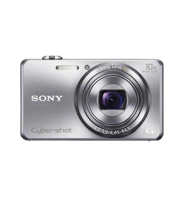 Get 12% OFF ON Sony CyberShot WX200 18.2MP Point & Shoot Digital Camera (Silver).+  Get Extra 3% OFF. + 4 GB Memory Card + Carry Case