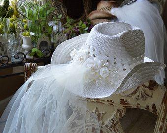 Vaquera boda sombrero Western boda vaquera por MorganTheCreator