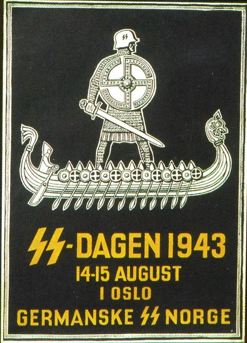SS-Recruitment poster from Norway during German occupation 1940-45…