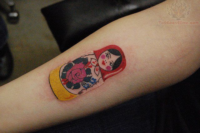 Matryoshka Tattoos Pictures and Images : Page 10