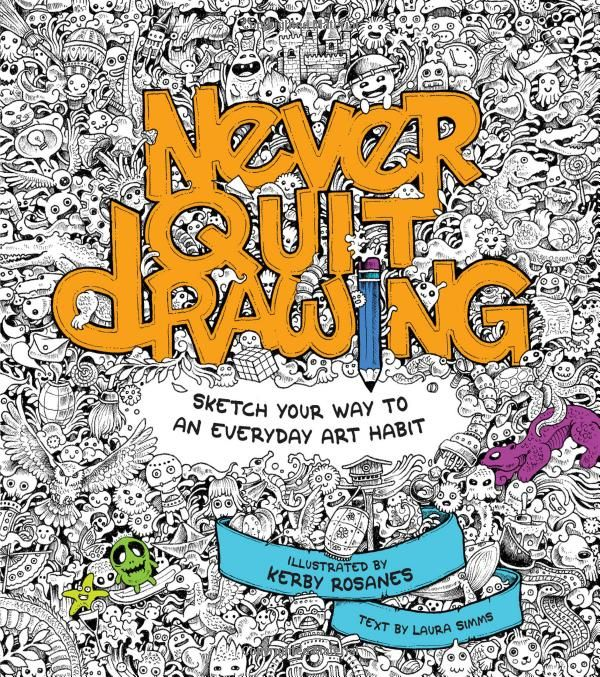 Amazon Never Quit Drawing Coloring BooksAdult