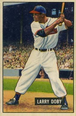 Larry Doby joined the United States Navy during World War II. His military service complete, Doby returned to baseball in 1946, and along with teammate Monte Irvin, helped the Eagles win the Negro League World Series.