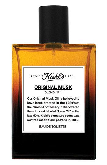My signature fragrance - I need more! Kiehl's Original Musk Eau de Toilette Spray $42.50