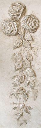 Plaster Mold Cabbage Rose Set | Walls Stencils, Plaster Stencils, Painting Stencils, Plaster Molds