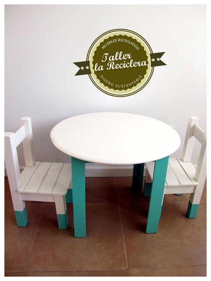 Mesa infantil redonda - Mesa infantil madera ...